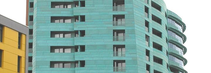 Quinta met lica soluciones en revestimientos met licos - Revestimientos para fachadas ...
