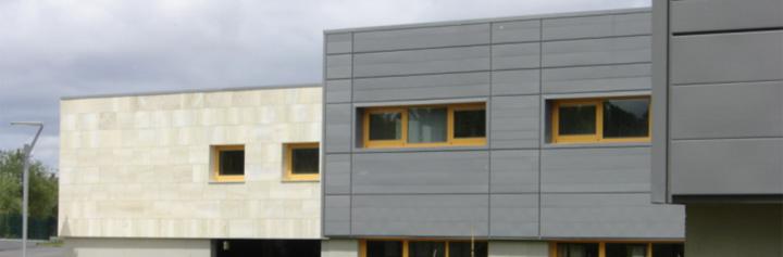 Quinta met lica soluciones en revestimientos met licos for Paneles aislantes para fachadas
