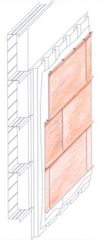 Quinta met lica soluciones en revestimientos met licos - Material aislante para paredes ...