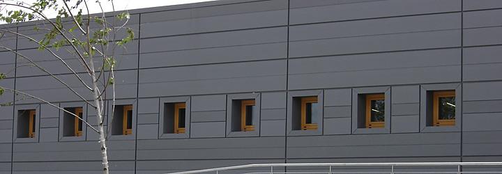 Quinta met lica sistema de paneles para revestimiento de - Recubrimientos para fachadas ...